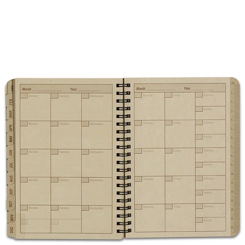All Weather Pocket Calendar