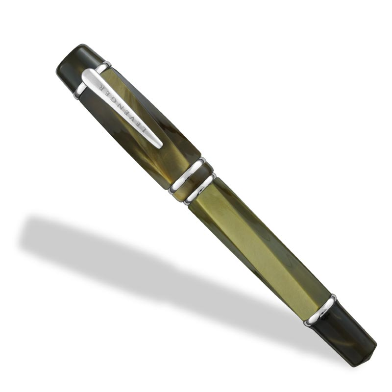 Facets Fountain Pen, Olive