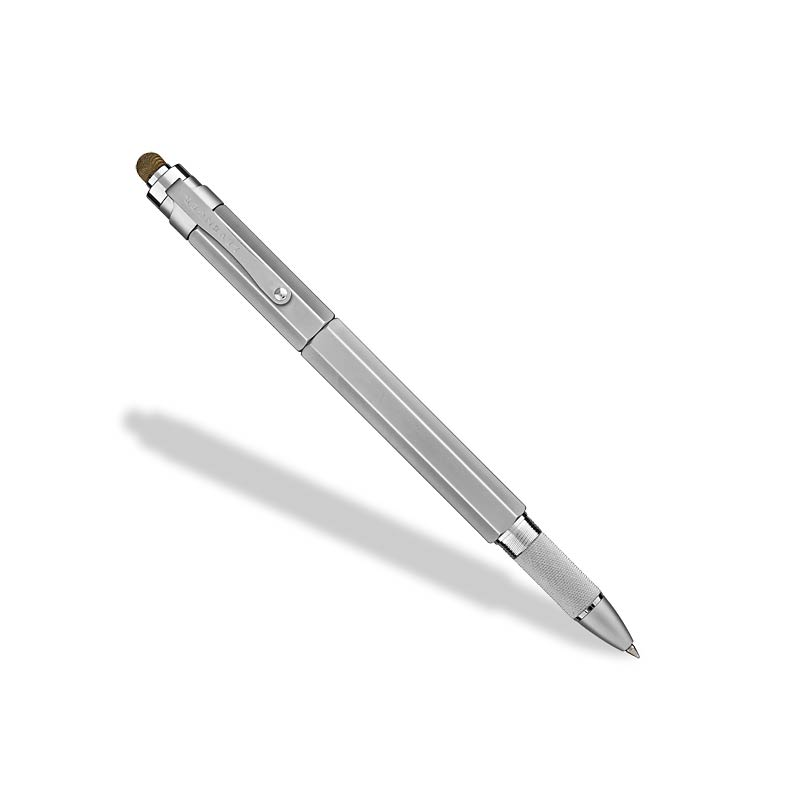 L-Tech 3.0 Rollerball Chrome w/ Fabric Stylus