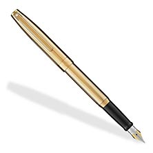 Sheaffer Sagaris Fountain Pen Fluted Gold