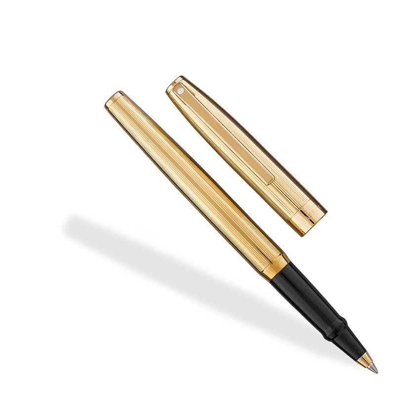 Sheaffer Sagaris Rollerball Fluted Gold