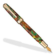 True Writer Foliage Fountain Pen - Broad