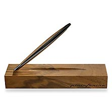 Napkin Cambiano Inkless Pen Desk Set, Black