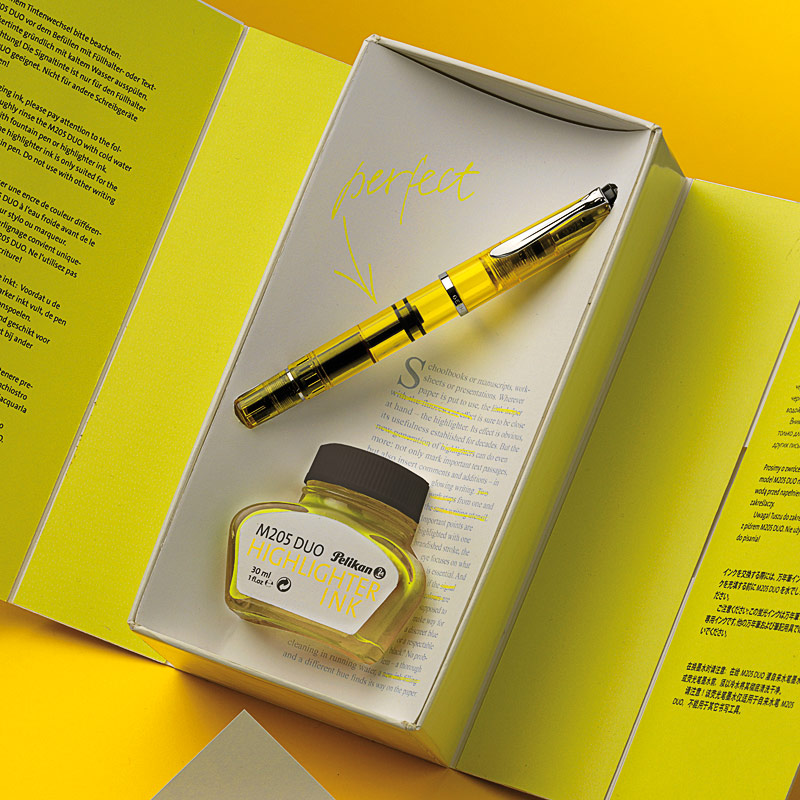 Pelikan Duo Highlighter Fountain Pen