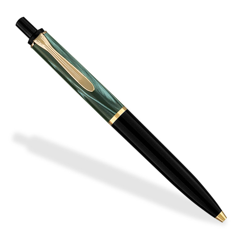 Pelikan Tradition K200 Ballpoint, Green Marble