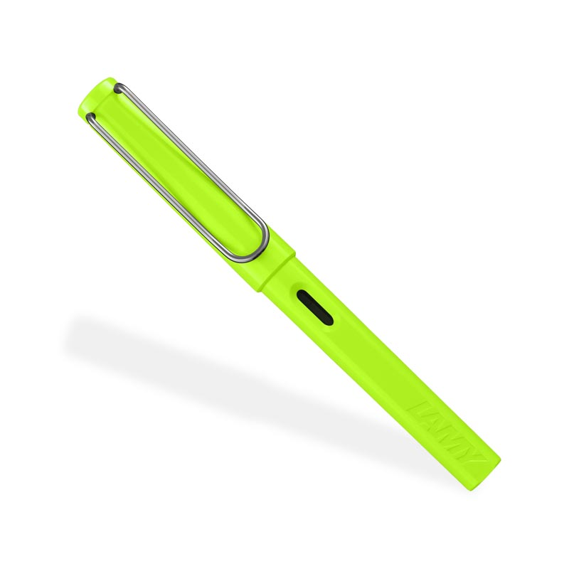 Lamy Safari Fountain Pen, Lime