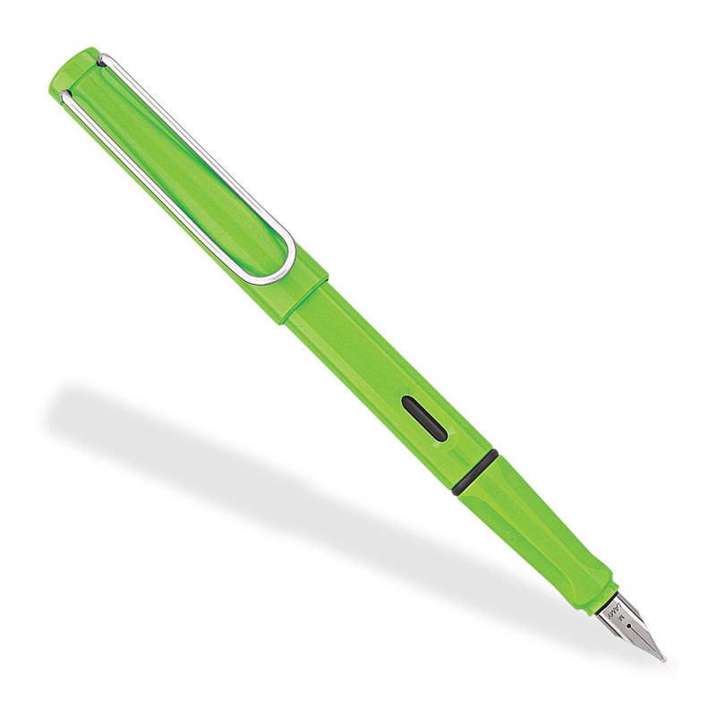 Lamy Safari Fountain Pen, Apple Green