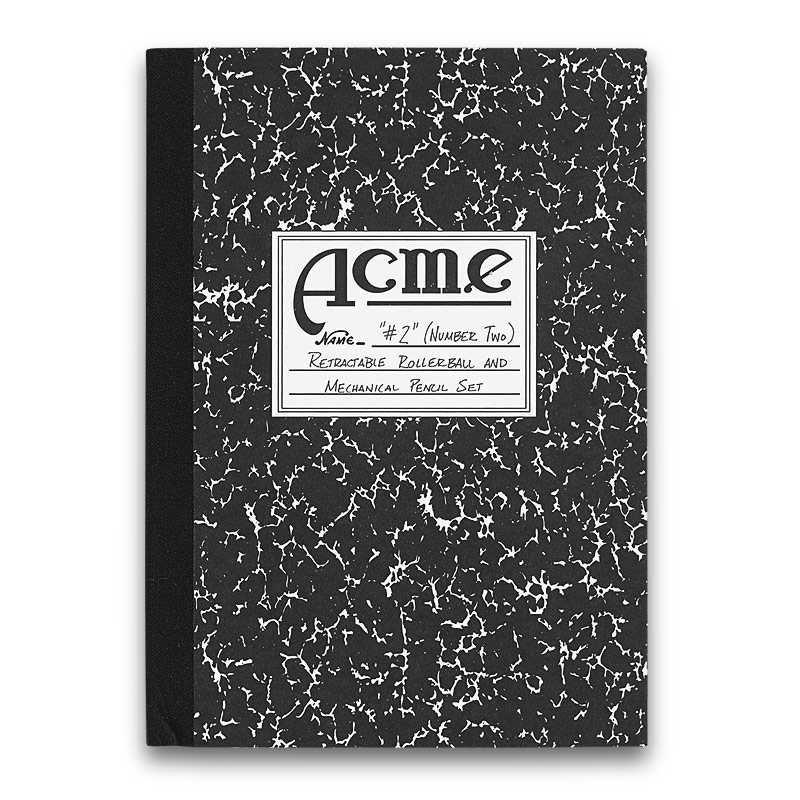 ACME #2 Pen & Pencil Set