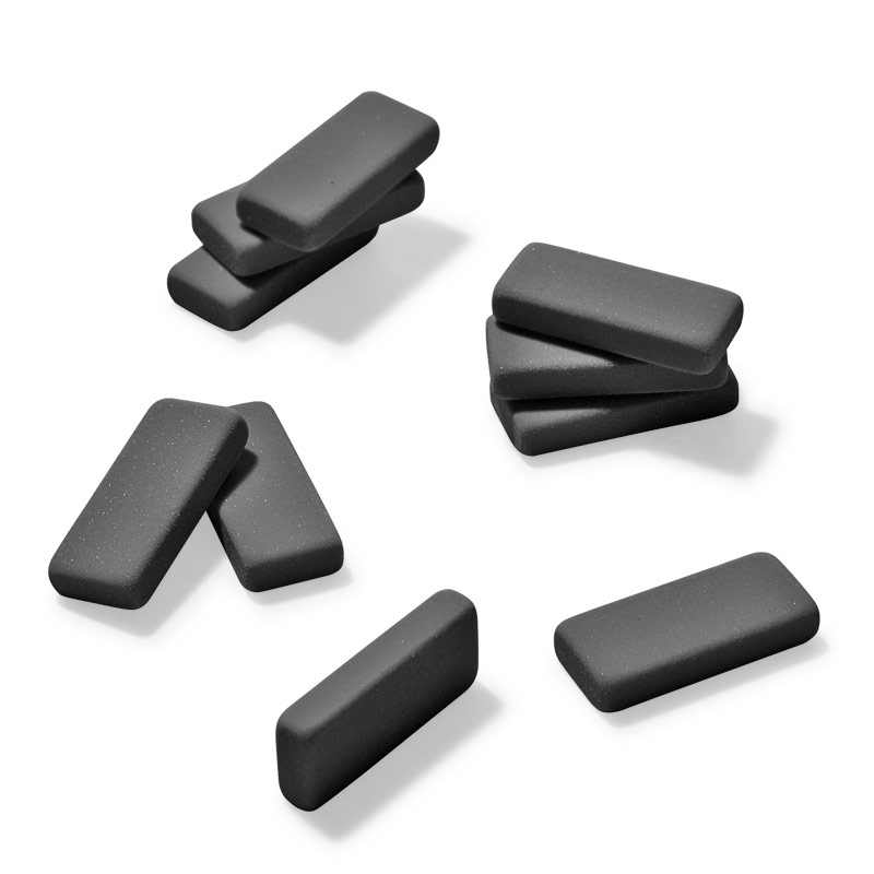 Palomino Blackwing Erasers (Set of 10), Black