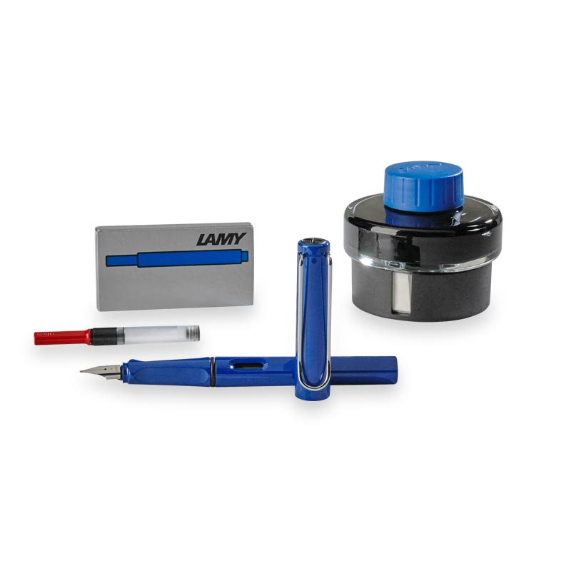 Lamy Safari Gift Set, Blue