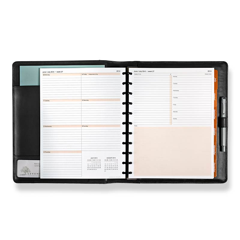 Circa smartPlanner Jul-Dec Folio, Letter
