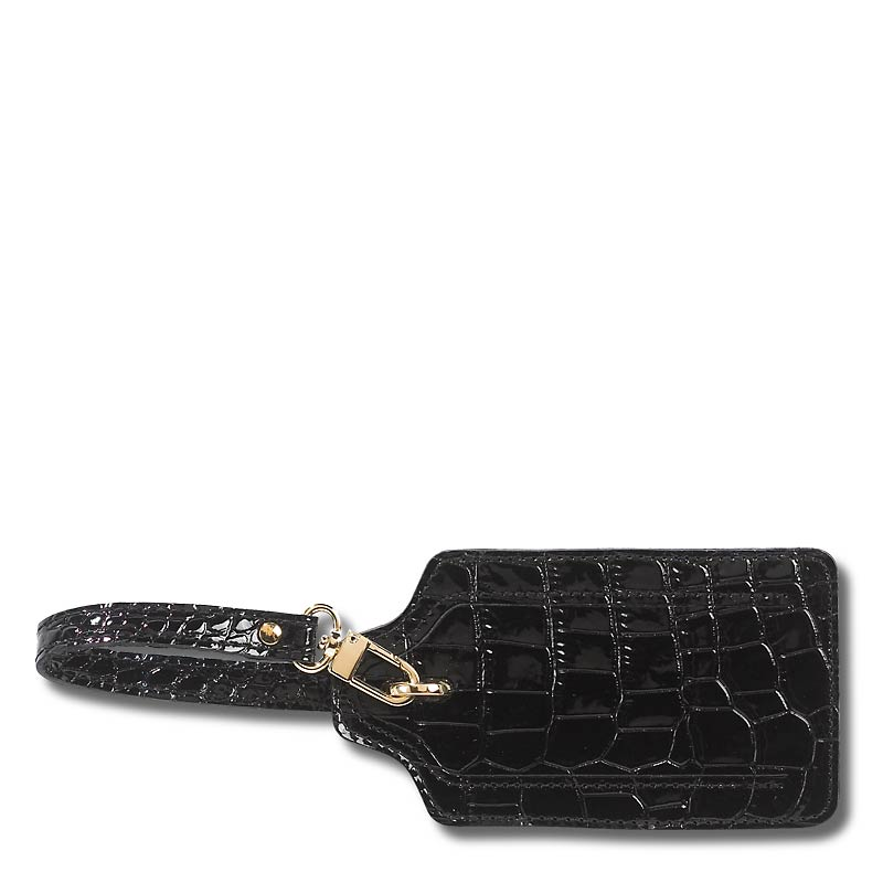 Abas for Levenger Luggage Tag, Black