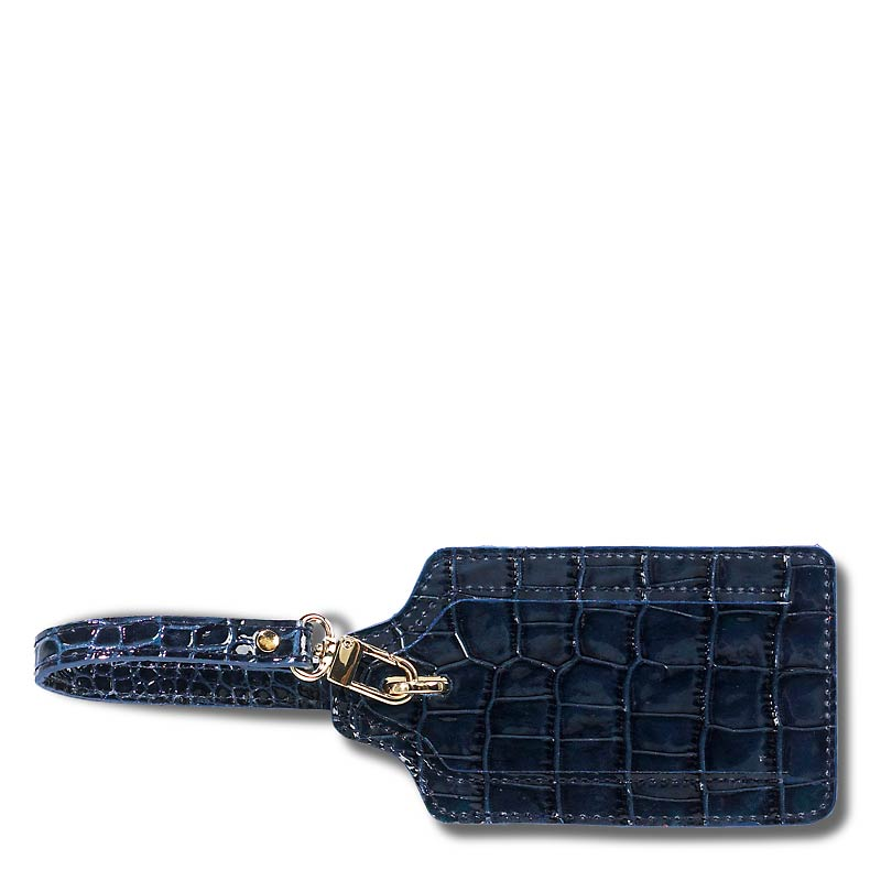 Abas for Levenger Luggage Tag, Navy