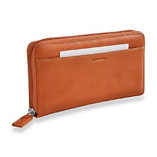 Raffinato Accordion Wallet, Sienna