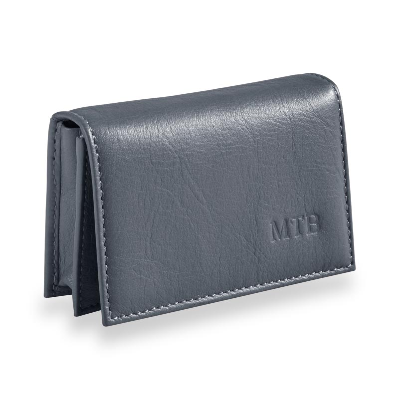Raffinato Card Wallet, Cornflower
