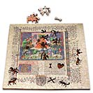 Morgan Library Woodcut Puzzle