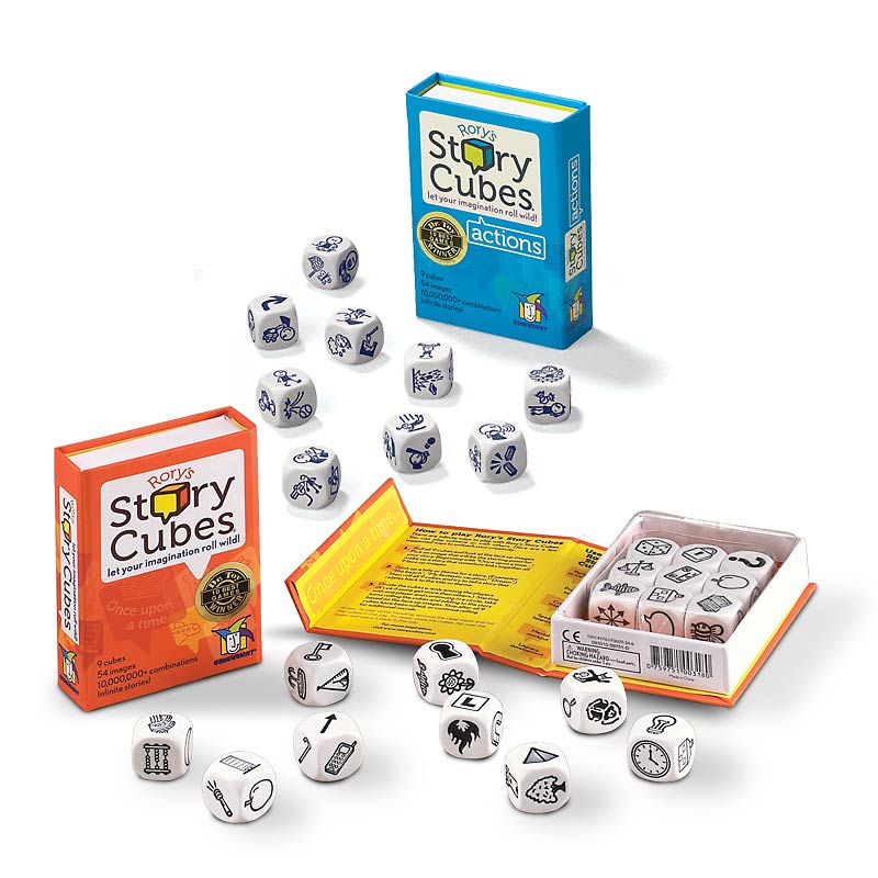 Rory's Story Cubes with Action Cubes