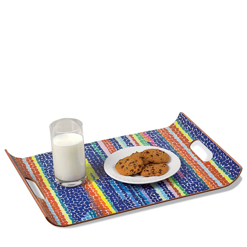 Alma Thomas Flowering Lap Tray