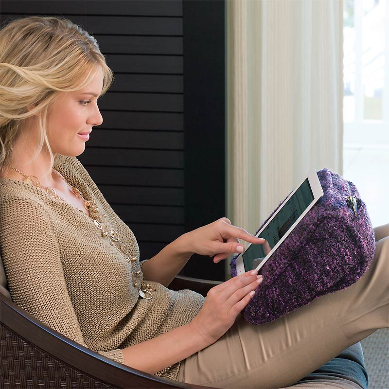Bouclé iPad Pillow