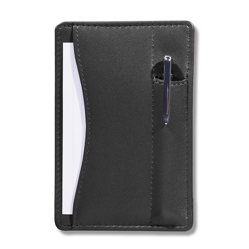 Slim Wallet Writer™ with Pen, Black