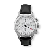 Men's Automatic Chronograph Watch Leather Band