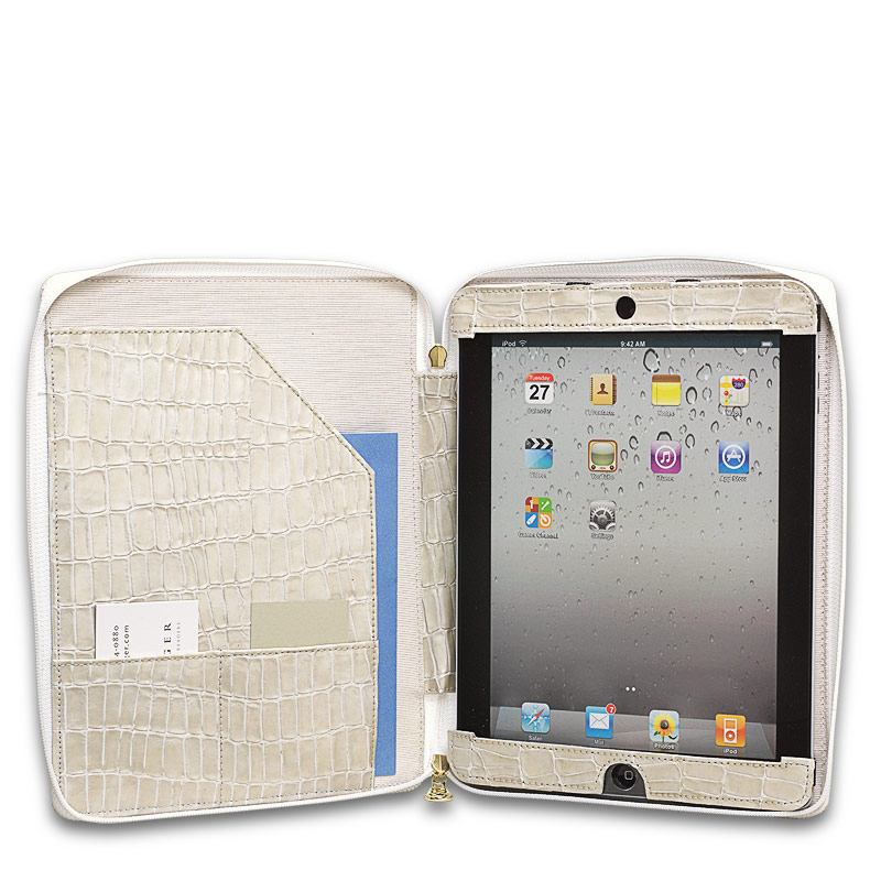 Tabula Zipped iPad Case