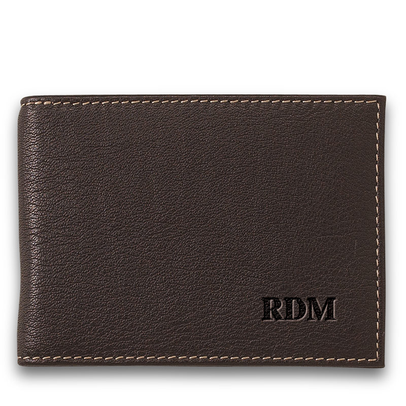 Bomber Jacket Moneyclip Wallet, with Personalization