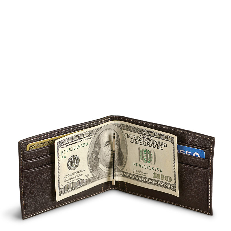 Bomber Jacket Moneyclip Wallet