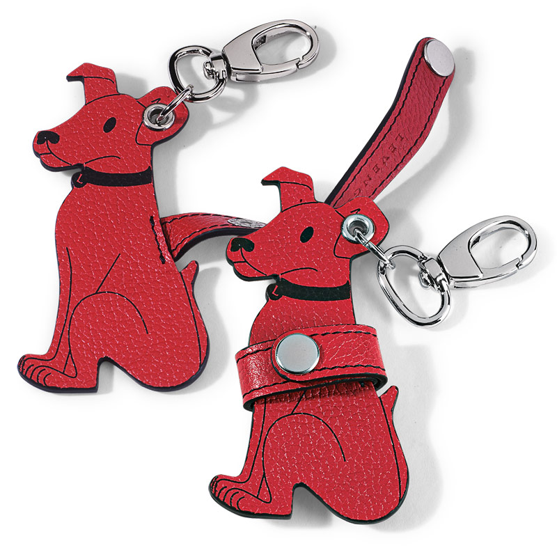Pocquettes™ Pooch Earbud Holder Red