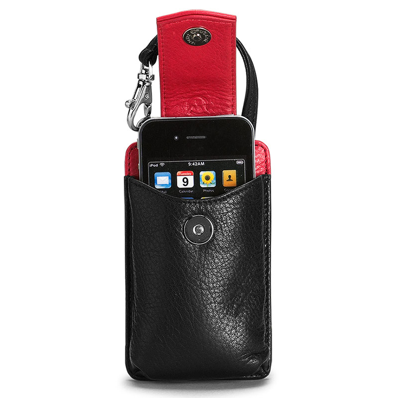 Marley Smartphone Case, Black/Red