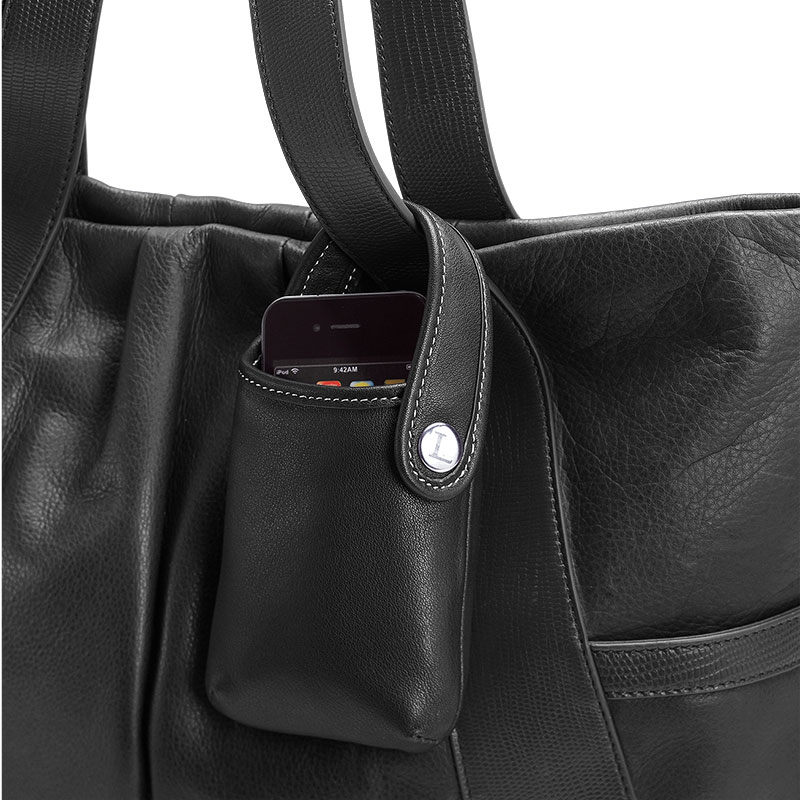 Carezza Electronics Pouch, Black