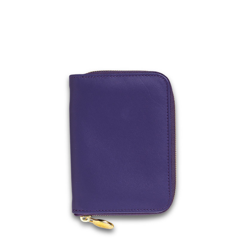 English Phone/Note Case, Purple