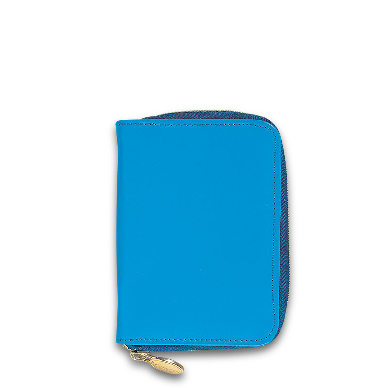 English Phone/Note Case, Bright Blue