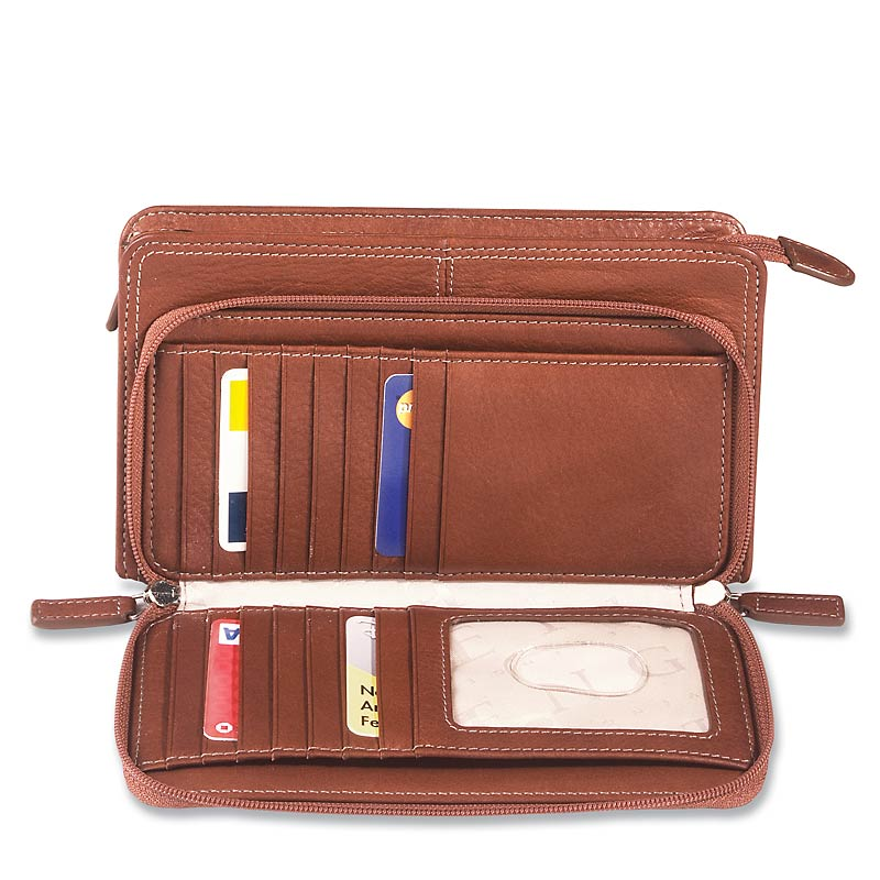Majorca Wallet, Brown