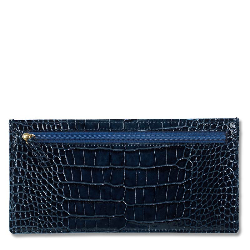Abas for Levenger Travel Wallet, Navy