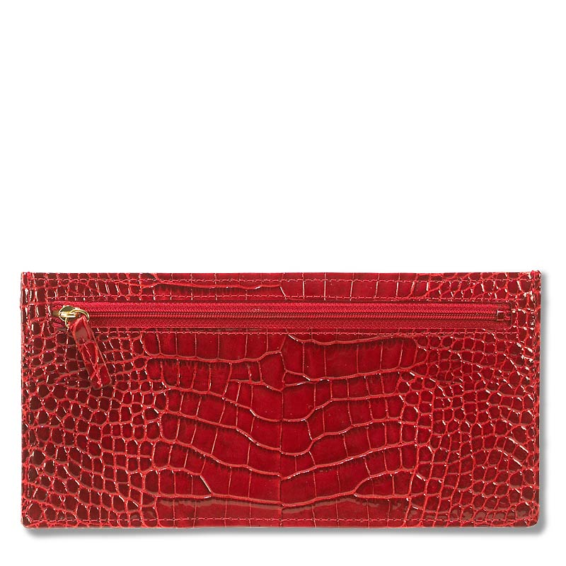 Abas for Levenger Travel Wallet, Red