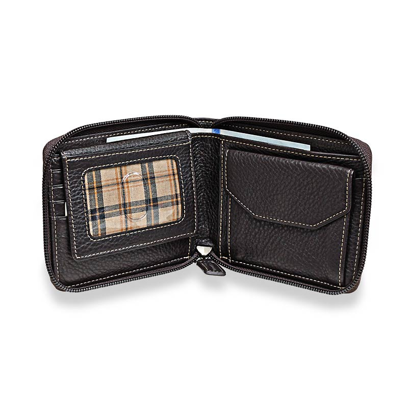 Bomber Jacket Zipster Wallet