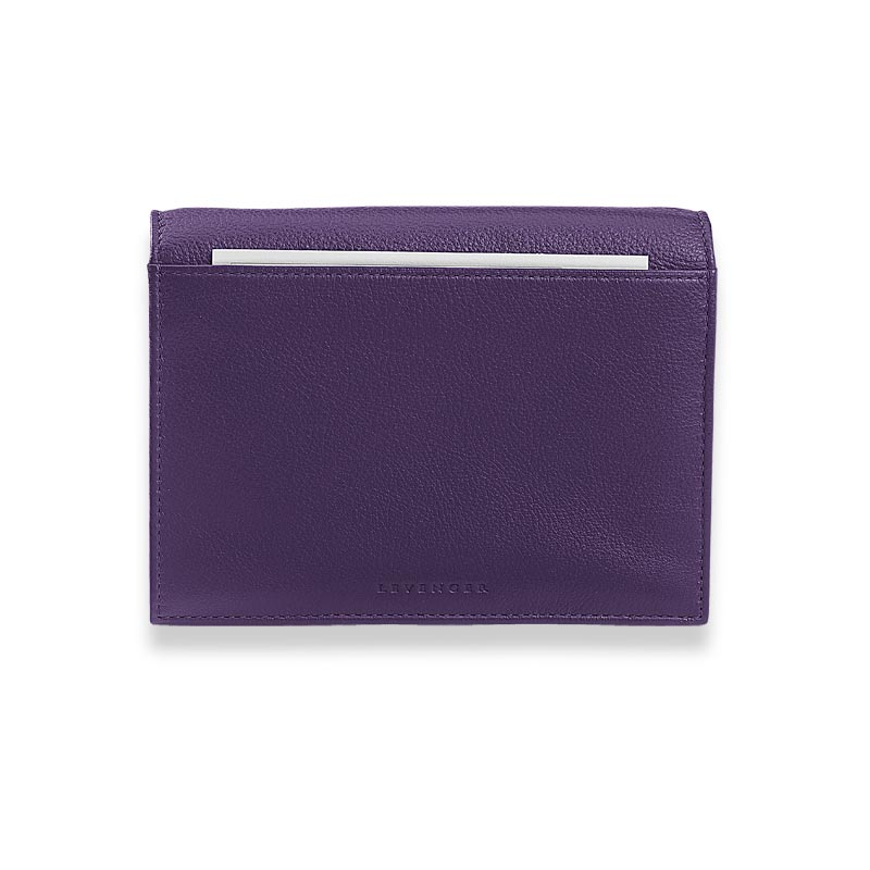 RFID Travel Wallet, Grape
