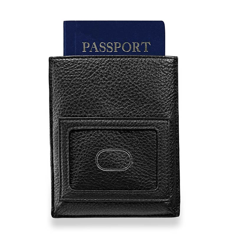 RFID Passport Sleeve, Black