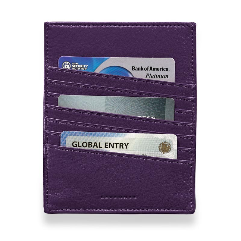 RFID Passport Sleeve, Grape