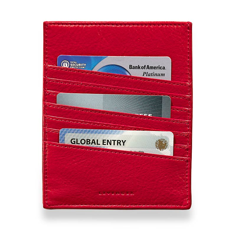 RFID Passport Sleeve, Red