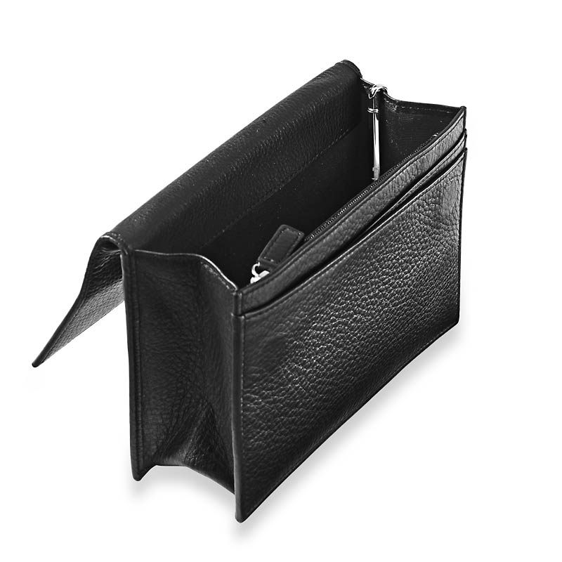 RFID Travel Wallet with Walletini Pen, Black