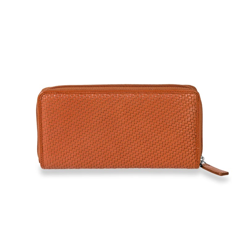 Tuscany Accordion Wallet, Sienna