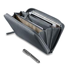 Raffinato Accordion Wallet with Walletini Pen, Cornflower