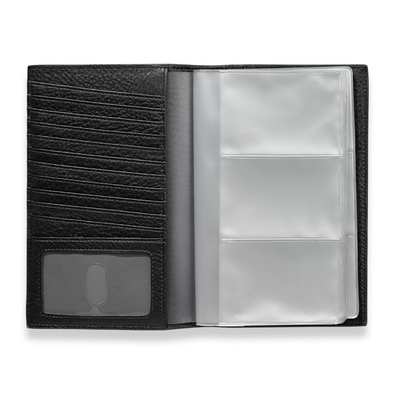 Envelope Business Card Organizer, Black