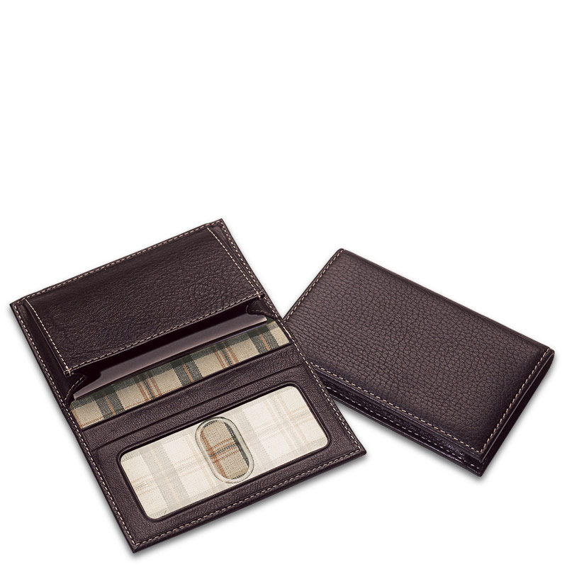 Bomber Jacket Card Wallet