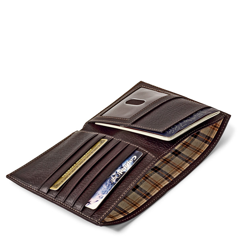 Bomber Jacket Passport Wallet