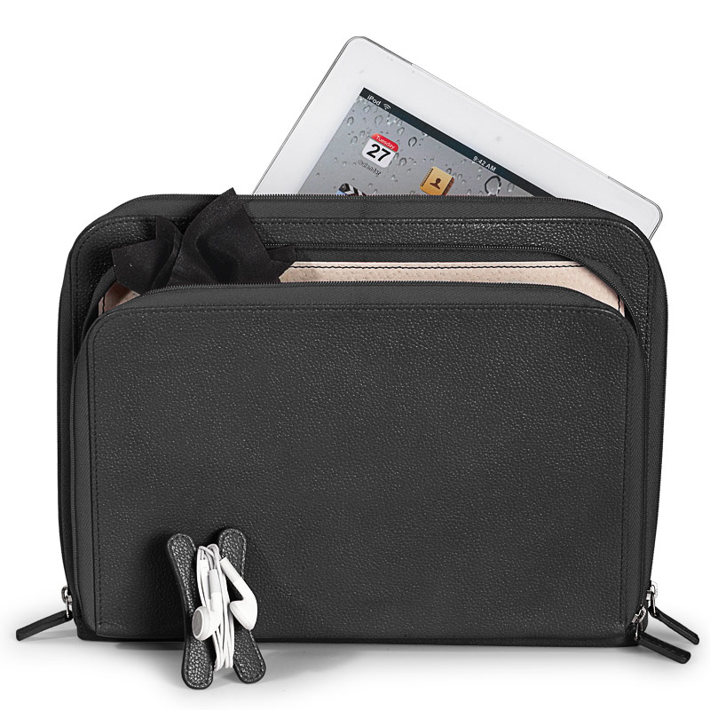 Pocquettes™ iPad Case, Black