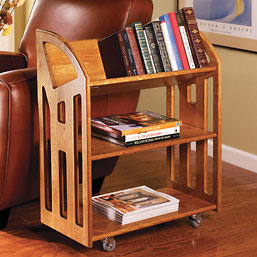 Book Buggy , Rolling Book Case, Library Book Case, Book Cases, Bookcase