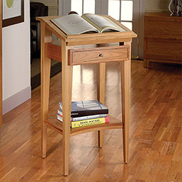 Franklin Library Book Stand - Book Holder, Library Stand, Reading Desk - Levenger